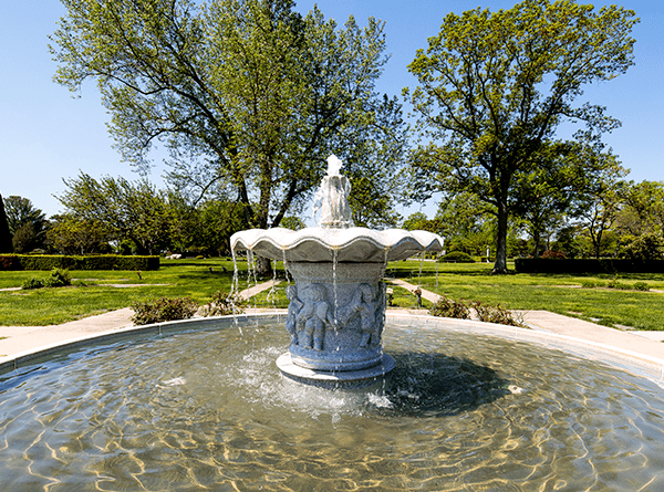 East Fountain Garden Fountain