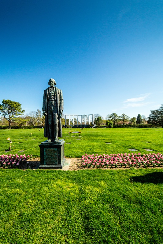 Thomas Jefferson Statue in the Garden of Freedom