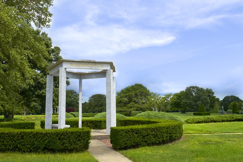 Washington Gazebo in the Garden of Freedom