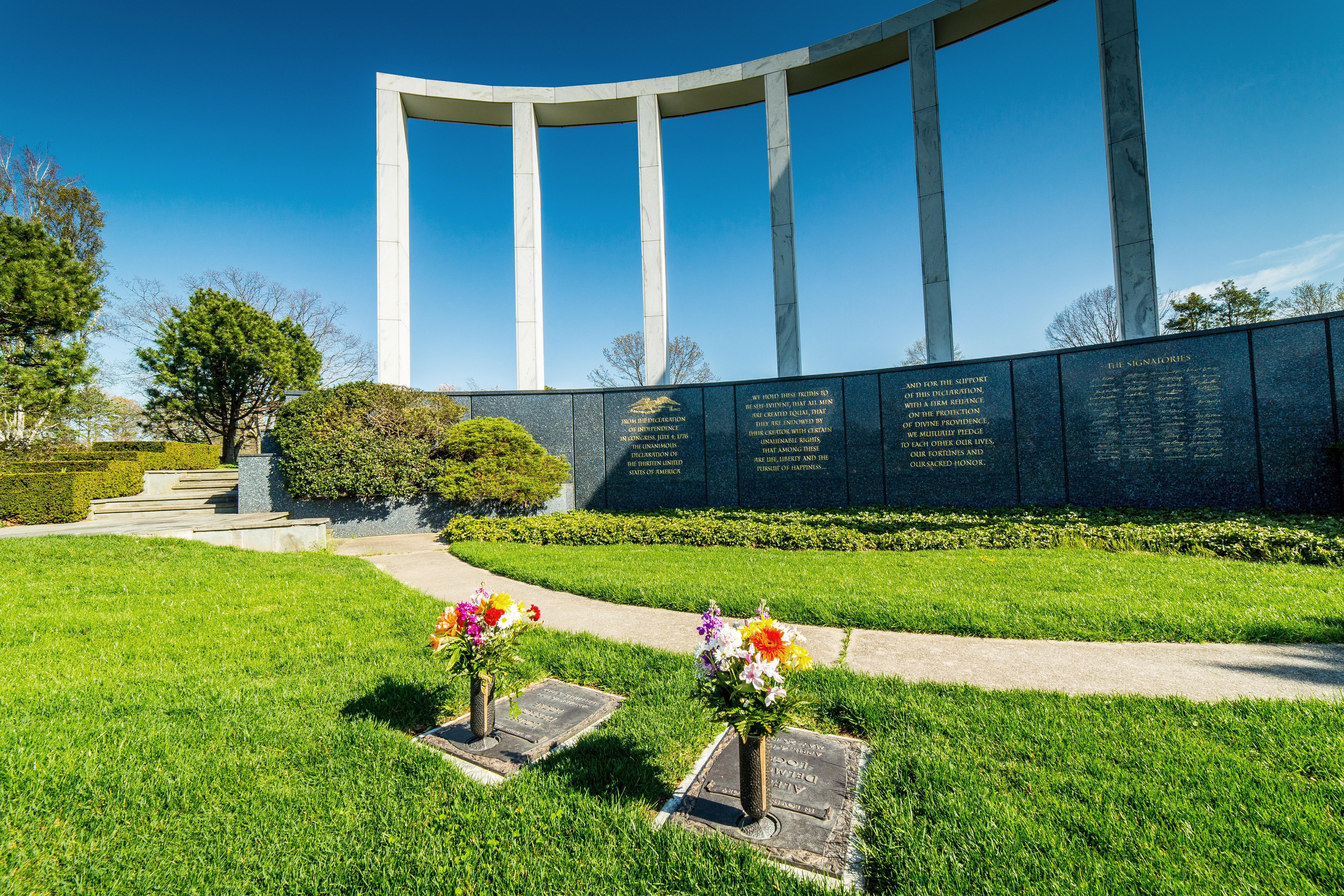 Garden of Freedom at Pinelawn Memorial Park