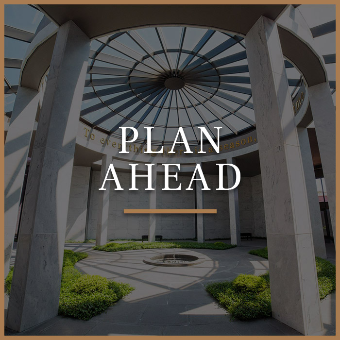Plan Ahead Button