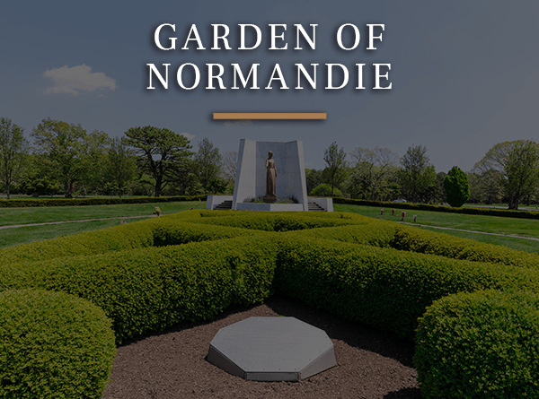 Garden of Normandie Hover button