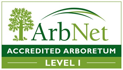 ArbNet Accredited Arboretum Level 1 Logo