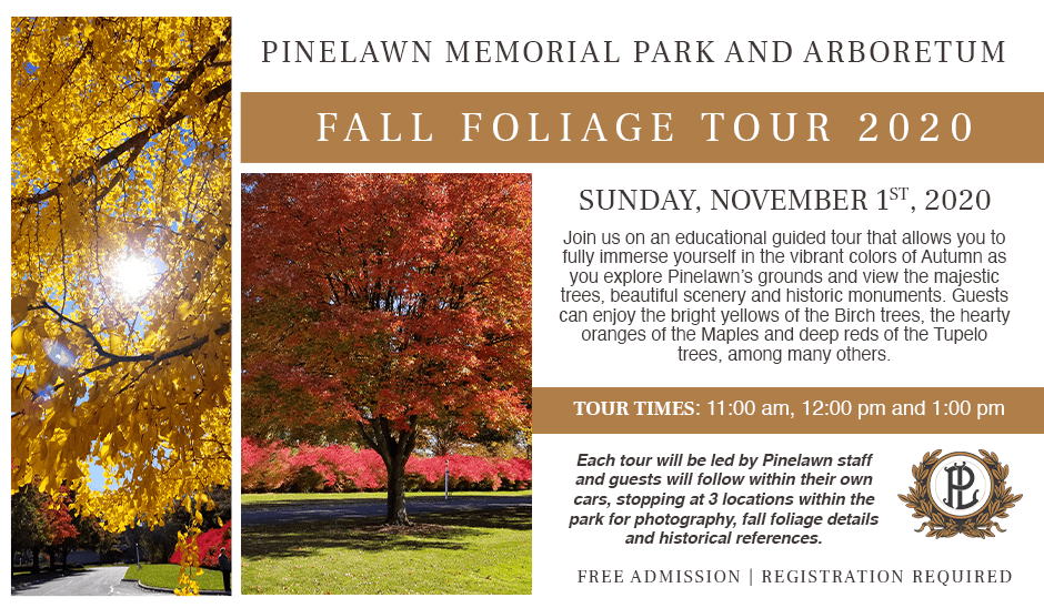 fall foliage tour event